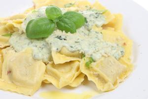 receta ravioli 4 quesos