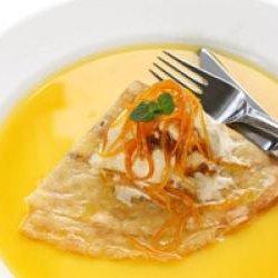 Receta de crepes con salsa de jugo de naranja for Salsa para crepes