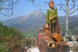 El camín encantáu, valle de ardisana (asturias)