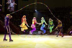 'Circo ruso sobre hielo', teatro compac gran vía, Madrid