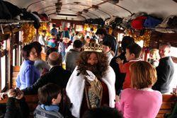 'El tren de navidad', Museo del Ferrocarril, Madrid