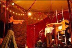 Domingos de circo en el picasso: le kiosque à mézigue'. Museo picasso de Barcelona