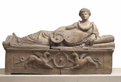 'Príncipes etruscos. entre oriente y occidente', Caixaforum Barcelona
