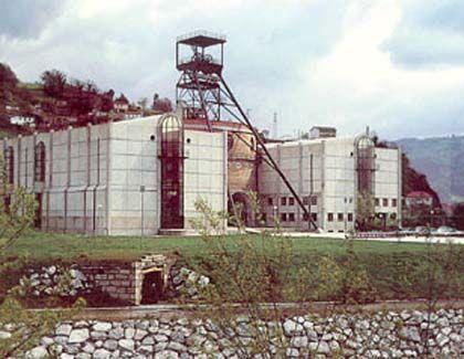 Museo de la minería y de la industria de asturias, el entrego