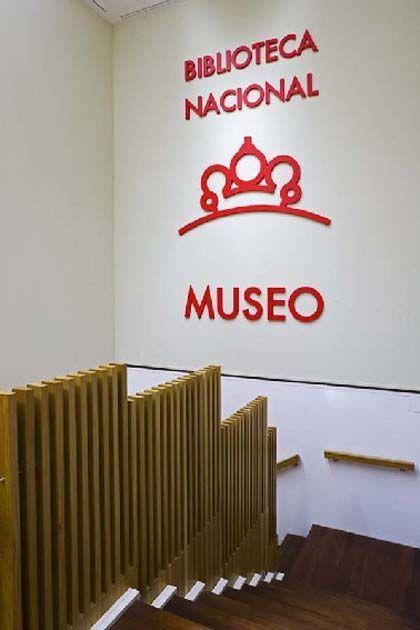 Visita guiada, biblioteca nacional, Madrid