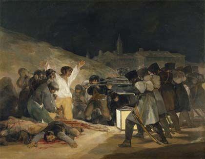 'Goya en tiempos de guerra', museo del prado, Madrid