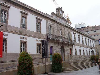 'Iniciación al arte contemporáneo' marco, Vigo