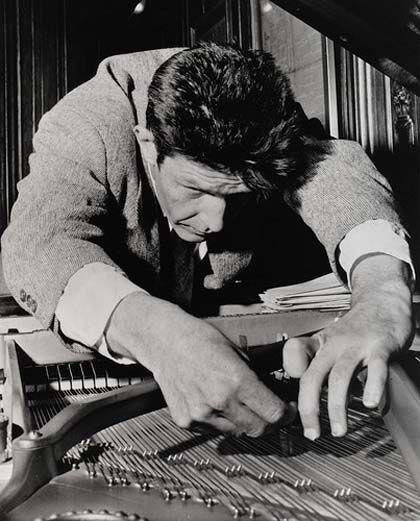 Concierto: 'La música de karlheinz stockhausen', marco, Vigo