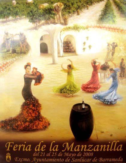 Feria de la manzanilla, sanlúcar de barrameda (cádiz)