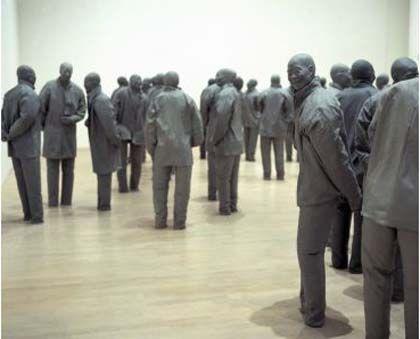 'Juan muñoz: retrospectiva', museo guggenheim Bilbao