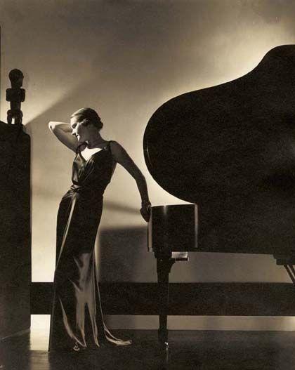 'Edward steichen, fotografía de moda', museo del traje, Madrid'