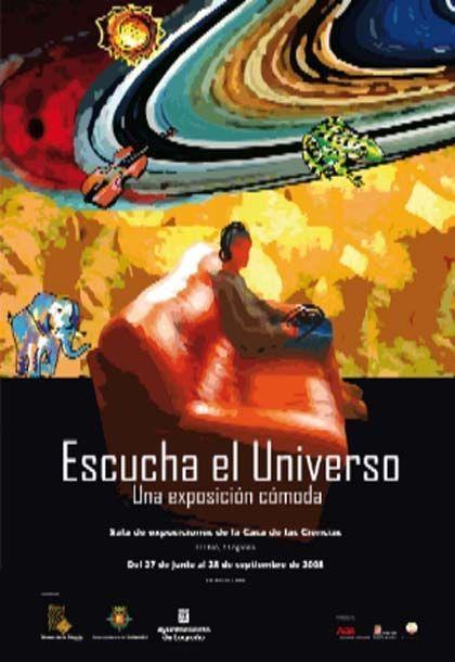 'Escucha el universo: una exposición cómoda', casa de las ciencias, Logroño