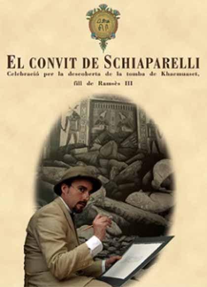 'El convite de schiaparelli'. museu egipci de Barcelona