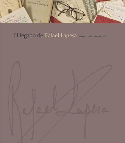 'El legado de rafael lapesa', biblioteca Valenciana (Valencia)