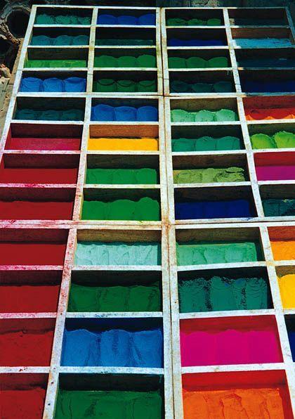 'Colores de asia', buhardilla de la sala de armas de la ciudadela, pamplona