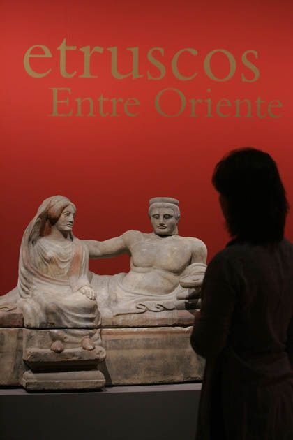 'Príncipes etruscos. entre oriente y occidente', Caixaforum Madrid