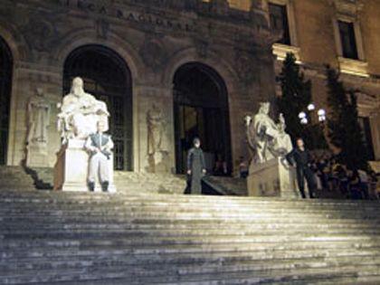 'El caballero', biblioteca nacional, Madrid