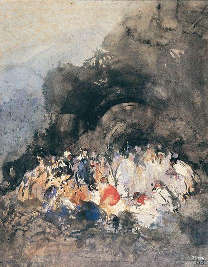 'El imaginario de eugenio lucas. la influencia de goya en la poética romántica', museo nacional de arte de cataluña, Barcelona