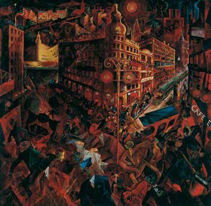 '¡1914! la vanguardia y la gran guerra', museo thyssen-bornemisza y fundación caja Madrid, Madrid