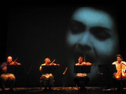 'Concierto multimedia maria t', museo nacional centro de arte Reina Sofía, Madrid