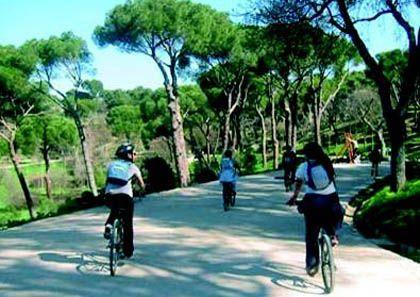 'Itinerarios en bicicleta por Madrid. Madrid desde el anillo', la casa encendida, Madrid