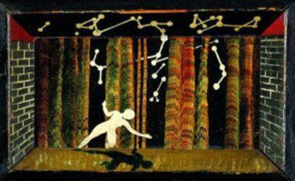 'La sombra', museo thyssen-bornemisza y fundación caja Madrid, Madrid