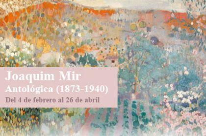 Café-tertulia de la exposición 'Joaquim mir. antológica (1873-1940)', Caixaforum Barcelona