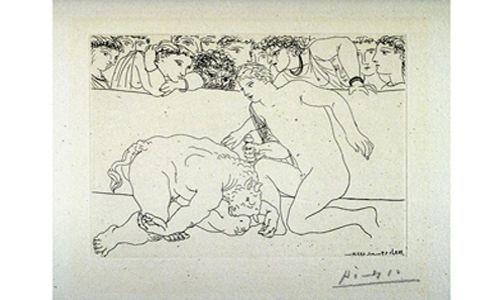 'Picasso. suite vollard', fundación mapfre, Madrid