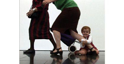 Eulàlia valldosera: 'Dependencias', museo nacional centro de arte Reina Sofía, Madrid