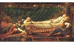 'La bella durmiente. pintura victoriana del museo de arte de ponce', museo del prado, Madrid
