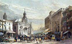 'Estampas de ferias y mercados (siglos xviii-xx)', museo de historia de Valencia