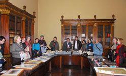 Jornada de puertas abiertas, biblioteca nacional, Madrid
