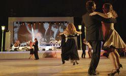 '¿Bailamos?', jardines de Sabatini, Madrid