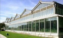 Invernadero palacio de cristal del distrito de arganzuela, Madrid