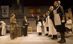 'La cena de los generales', teatro español, Madrid