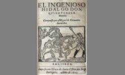 'Escenas cervantinas: la insólita vida de un libro', museo casa natal de cervantes (Madrid)