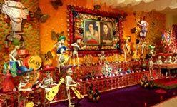 'Ofrenda de muertos 2009', museo dolores olmedo, Ciudad de México
