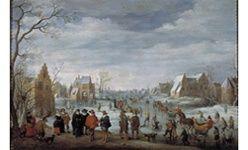 'Holandeses en el prado', museo del prado, Madrid