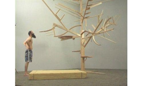 'Doblar a lo largo de la línea. guy ben-ner', centro de arte 2 de mayo, móstoles (Madrid)