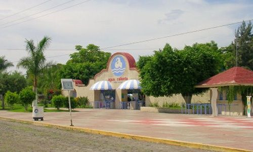 Agua caliente parque acuático, villa corona (jalisco)