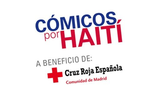 'Cómicos por haití', teatro compac gran vía, Madrid