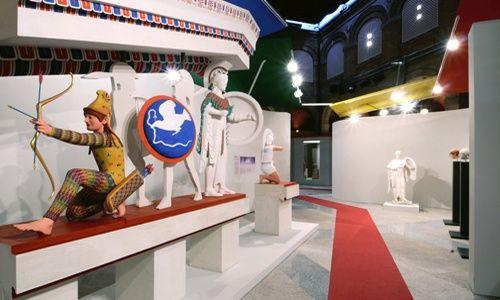 'El color de los dioses', museo arqueológico regional, alcalá de henares