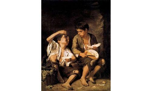 'El joven murillo', museo de bellas artes de Sevilla