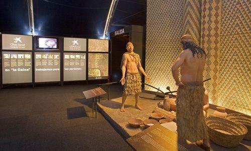 'Neolítico. de nómadas a sedentarios', antiguo estadio colombino, almería