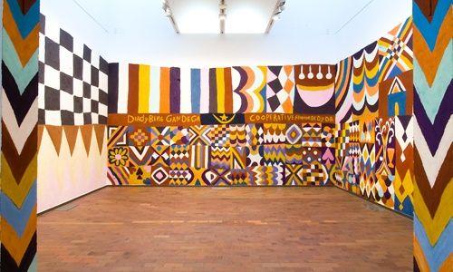 'Murales, prácticas murales contemporáneas', fundación joan miró, Barcelona