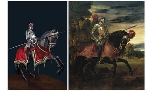 'El arte del poder. la real armería y el retrato de corte', museo del prado, Madrid