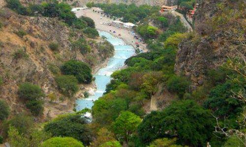 Parque nacional de las grutas de tolantongo, hidalgo