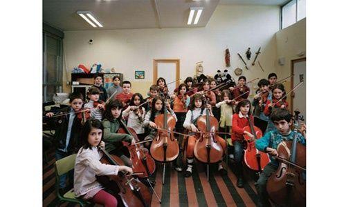 'Classroom portraits. julian germain', sala de exposiciones 'El águila', Madrid