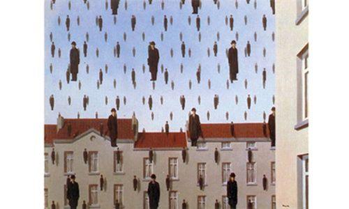 'El mundo invisible de rené magritte' museo del palacio de bellas artes, Ciudad de México