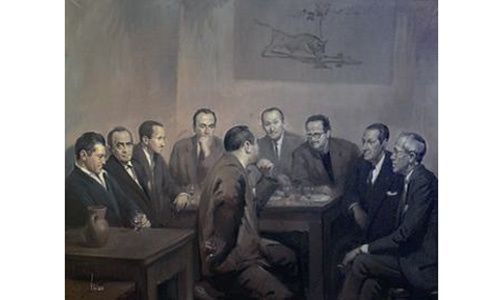 'Cien años de la asociación española de pintores y escultores 1910-2010', museo casa de la moneda